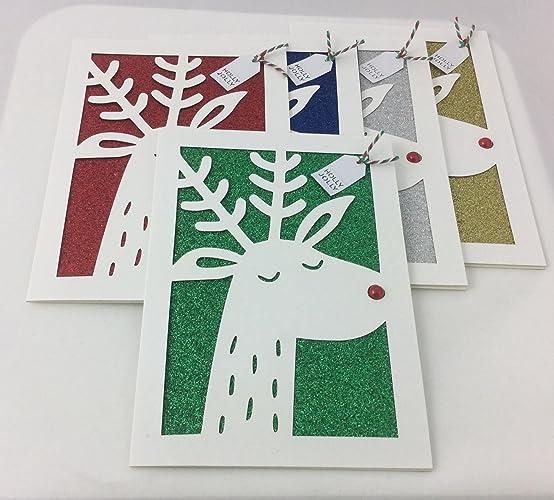Christmas Card Pack Christmas Fun Card Reindeer Christmas