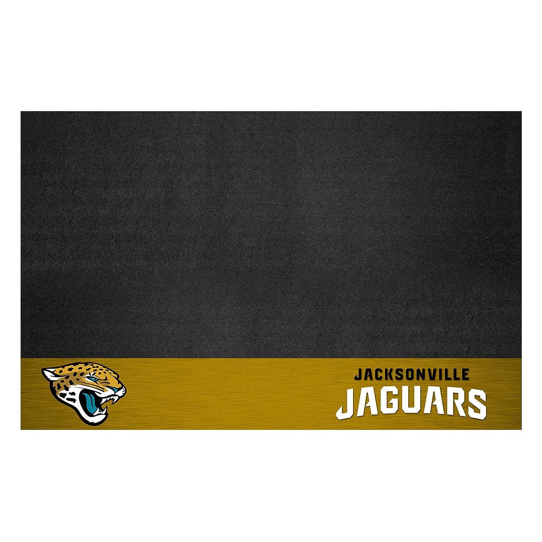 FANMATS NFL Jacksonville Jaguars Vinyl Grill Mat