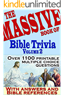 graphic relating to Printable Kjv Bible Trivia Questions and Answers identified as The Mive Ebook of Bible Trivia, Total 1: 1,200 Bible