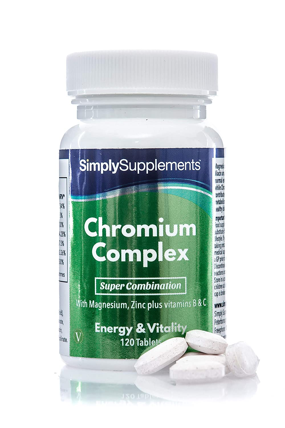 Amazon com: Chromium Complex (Picolinate) | 120 Tablets | Weight