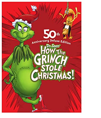How The Grinch Stole Christmas 1966 Movie Poster.Amazon Com How The Grinch Stole Christmas 50th Anniversary