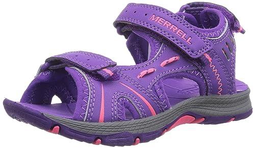 005b03b9a Merrell Panther Sandal - Sandalias Deportivas de Material sintético niña   Amazon.es  Zapatos y complementos