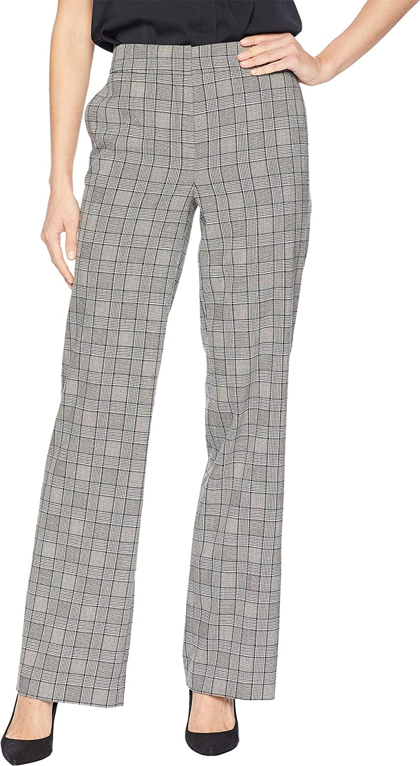 d37882a70a Nine West Womens Plaid Wide Leg Pants at Amazon Women's Clothing store: