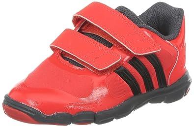Adidas Adipure 360.2 CF I Kinder Turnschuh Klett rot, Farbe