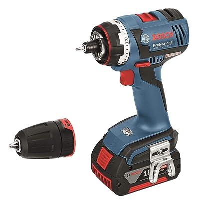 Bosch Professional 06019E1105 Atornillador a batería, 18 V, Azul ...