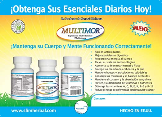 Amazon.com: Slimor+acai Diet Pills Plus Free Multimor Multivitamin: Health & Personal Care