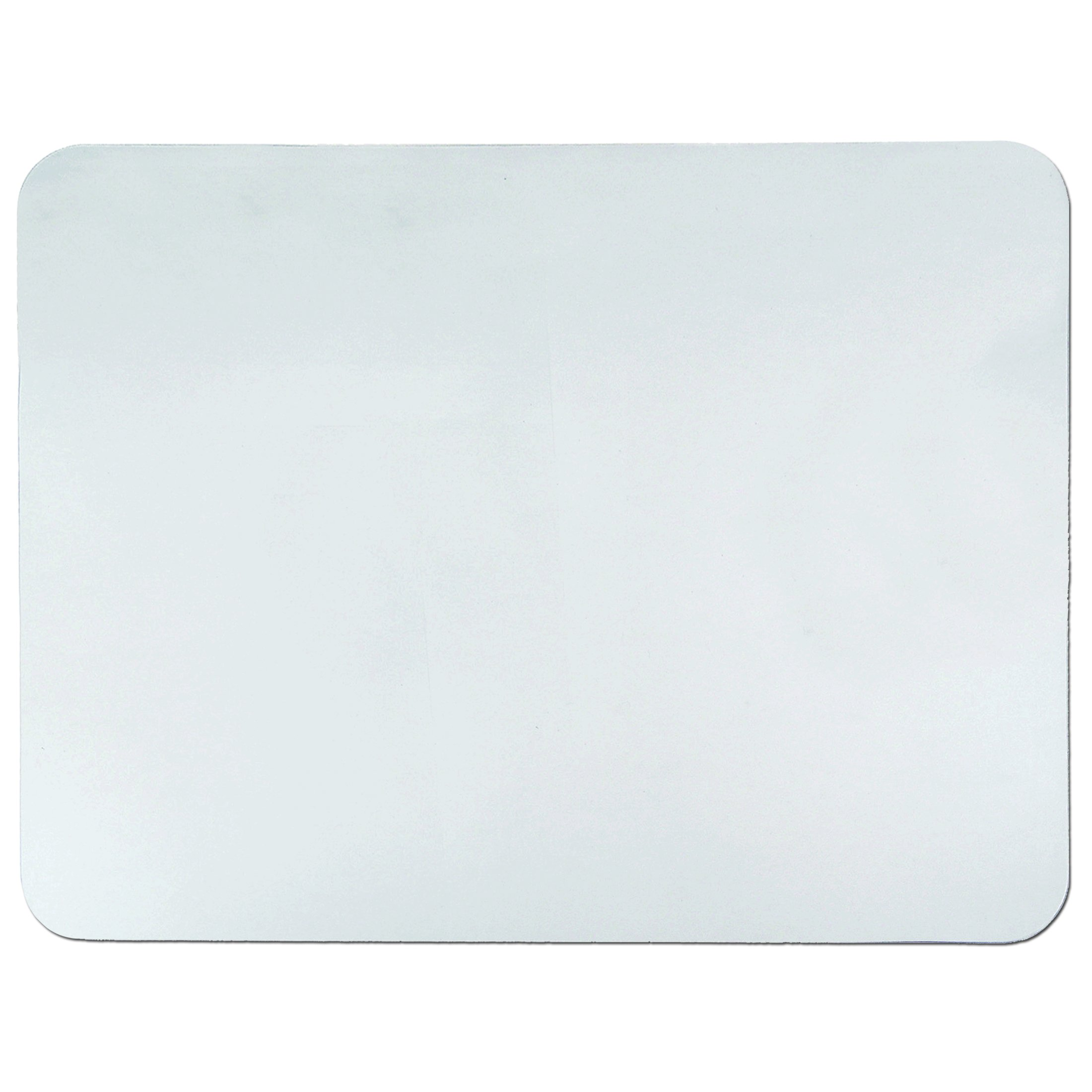 Artistic 17'' x 22'' Krystal View Clear Antimicrobial Desk Pad Organizer with Microban, Clear