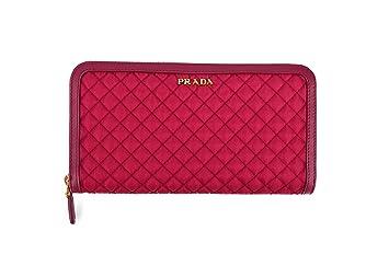 Prada Tessuto Quiltin - Cartera para mujer Mujer Rosa rosa: Amazon.es: Equipaje