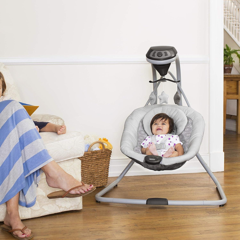 af76501fe Amazon.com : Graco Simple Sway Baby Swing, Abbington : Baby