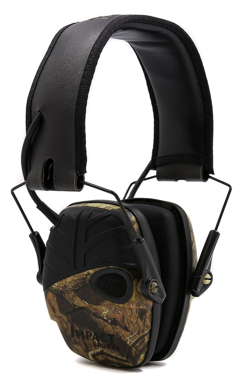 Honeywell  Howard Leight 1034490 Impact Sport Black Ear Defender, SNR 25 Honeywell Howard Leight
