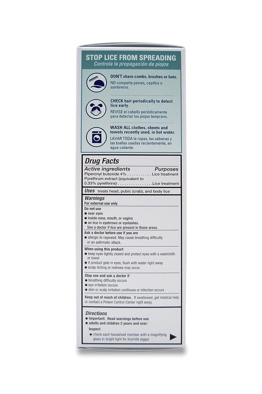 Amazon.com: 2 Pack Herklin 8oz Lice Killing Shampoo Kills Lice & Eliminates Nits Includes Metal Lice & Nit Comb: Health & Personal Care