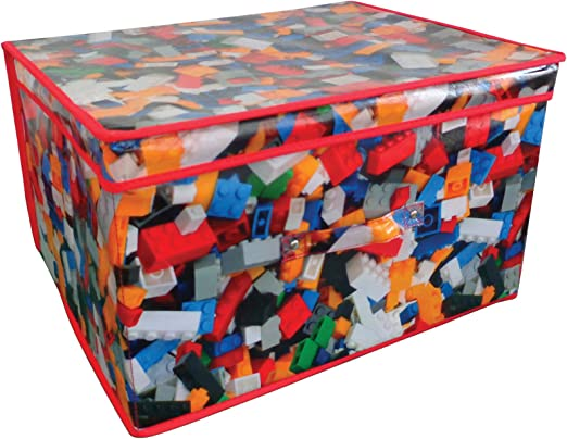 Caja para juguetes plegable (50 x 30 x 40 cm): Amazon.es: Hogar