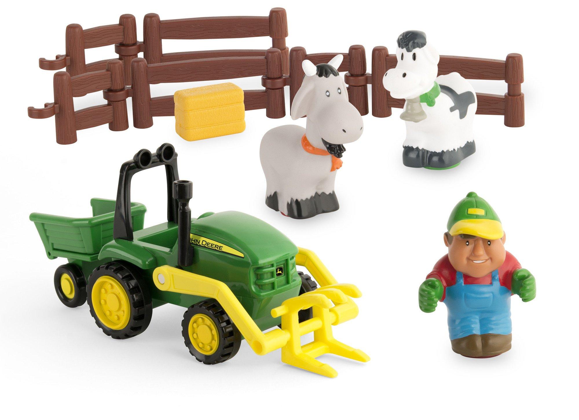 TOMY John Deere 1st Farming Fun, Load-Up Playset
