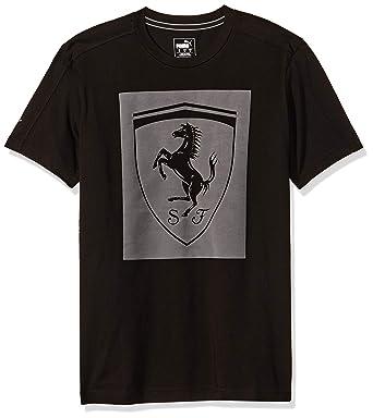 Puma T Shirt Ferrari Lifestyle Big Shield pour Homme: Amazon