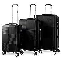 3pc Luggage Suitcase Trolley Set TSA Travel Carry On Bag Hard Case