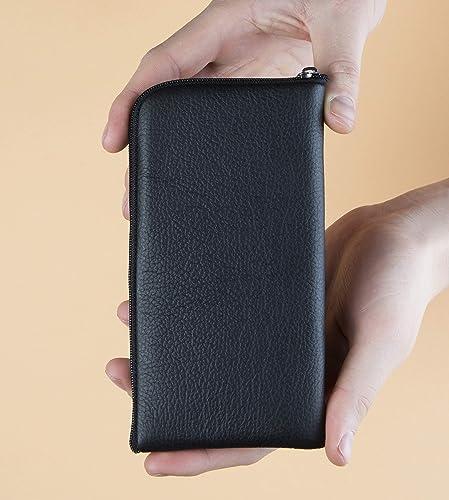 Funda de cuero para iPhone 11 Pro Max, caja funda bolsa case, cover estuche de manga: Amazon.es: Handmade