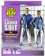 Golds Gym Adult Sauna Suit M/L Fits Waist Sizes 30 -
