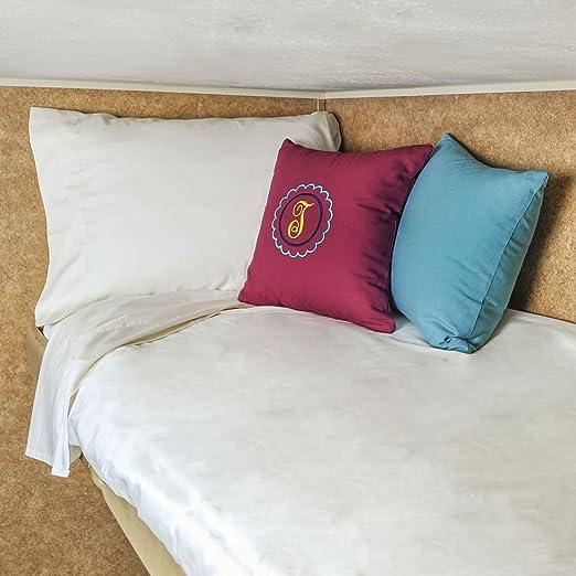 Amazon.com: AB Lifestyles 30x75 Bunk Camper Bed Sheet Set USA MADE 100%  Cotton Set For Camper, RV, Travel Trailer Color: Ivory: Home U0026 Kitchen