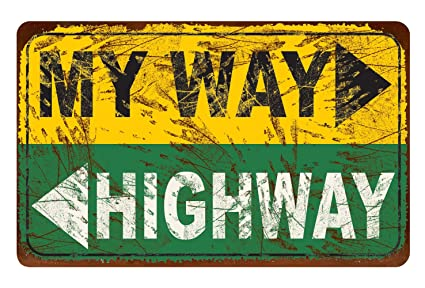 Amazon.com: Ohio Wholesale My Way Highway Wall Art, from our ...