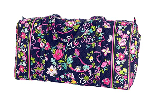 02ab7499291f Image Unavailable. Image not available for. Color  Vera Bradley Large Duffel  in Ribbons