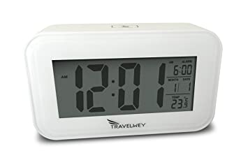 Amazon.com: Night-Time Digital Alarm Clock For Bedrooms, Visible ...