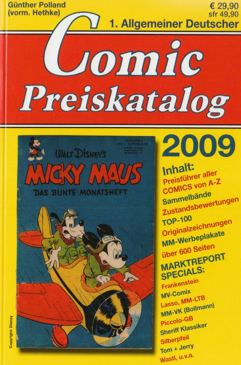 Comicpreiskatalog 2009