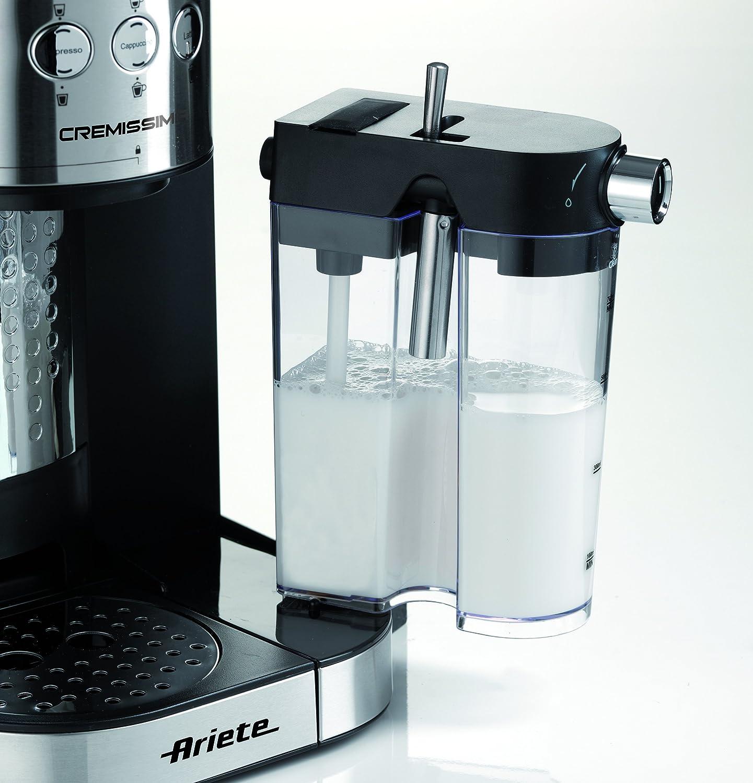 Ariete 1384 Cafetera espresso Cremissima, 1 litro, acero inoxidable: Amazon.es: Hogar