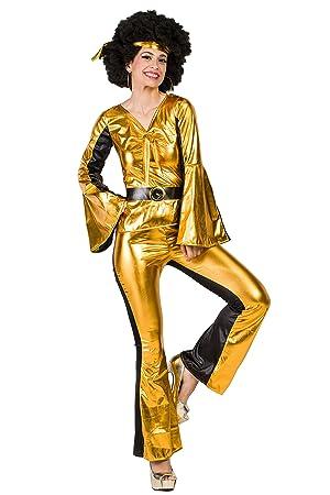 Kimokawaii Disfraz Disco Dorado XL: Amazon.es: Juguetes y juegos