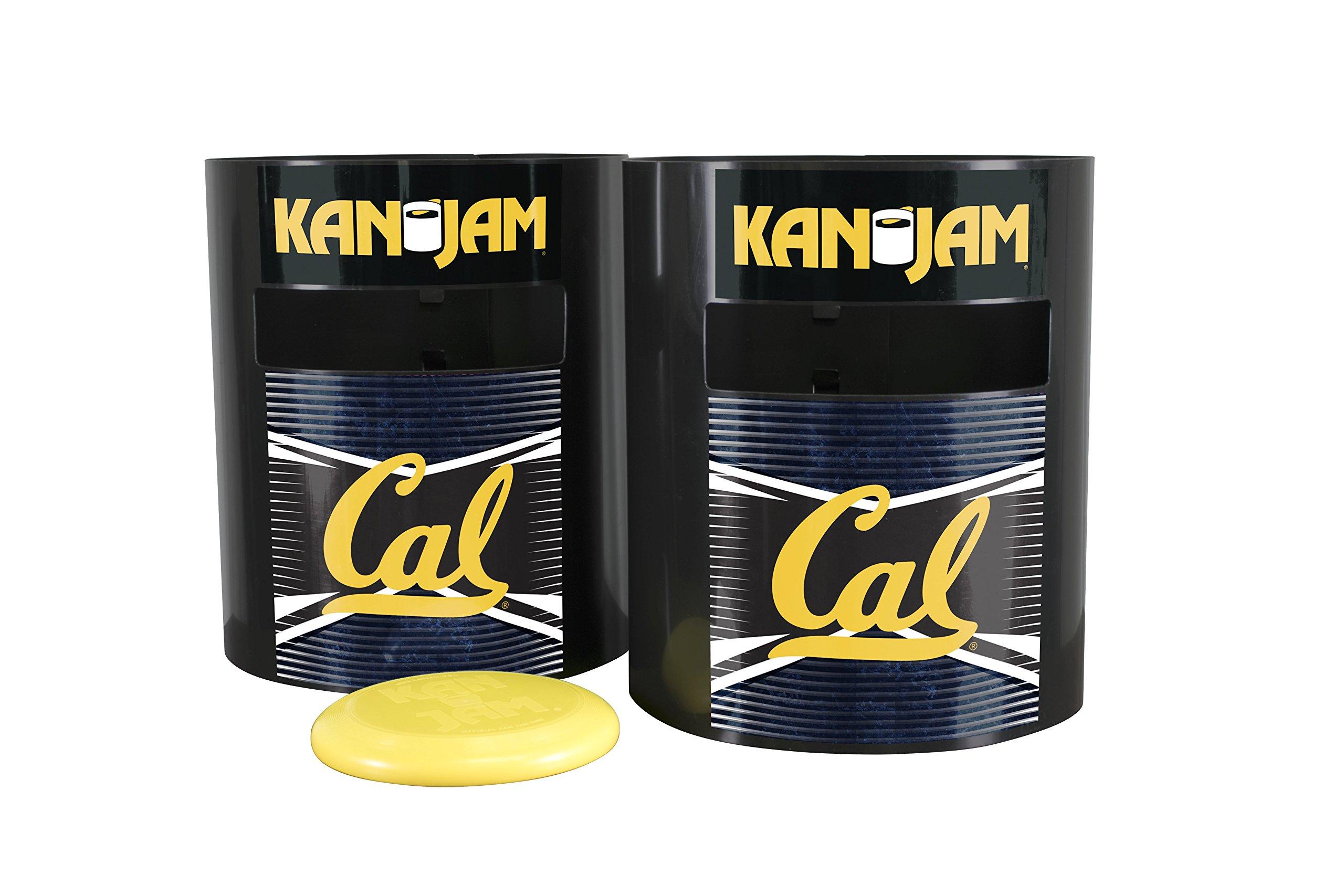 Kan Jam NCAA California Golden Bears Disc Gamecalifornia Golden Bears Disc Game, Team Color, 11.875'' x 20'' x 9''