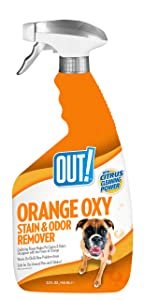 OUT! Orange Oxy Stain and Odor Remover, 32 oz, USA Made
