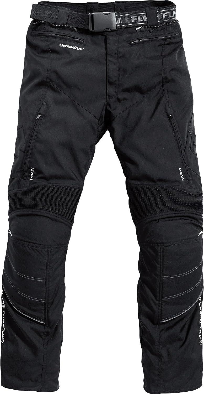 wasserdicht Knieprotektoren Qualit/ätsnaht nach DIN ISO 4916 FLM Motorradhose Herren Textilhose EN 1621-1 Winddicht Verbindungsrei/ßverschluss zur Jacke Bel/üftungssystem