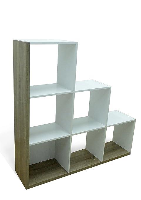 abitti estantería o librería en forma de escalera de diseño actual