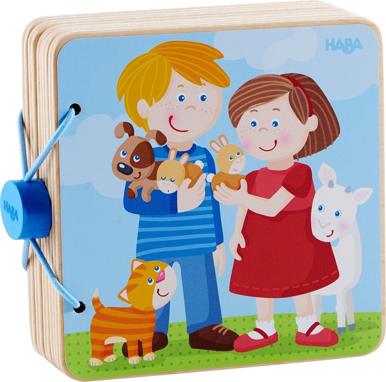 HABA 300854 Babybuch Lieblingsjahreszeit Kleinkindspielzeug