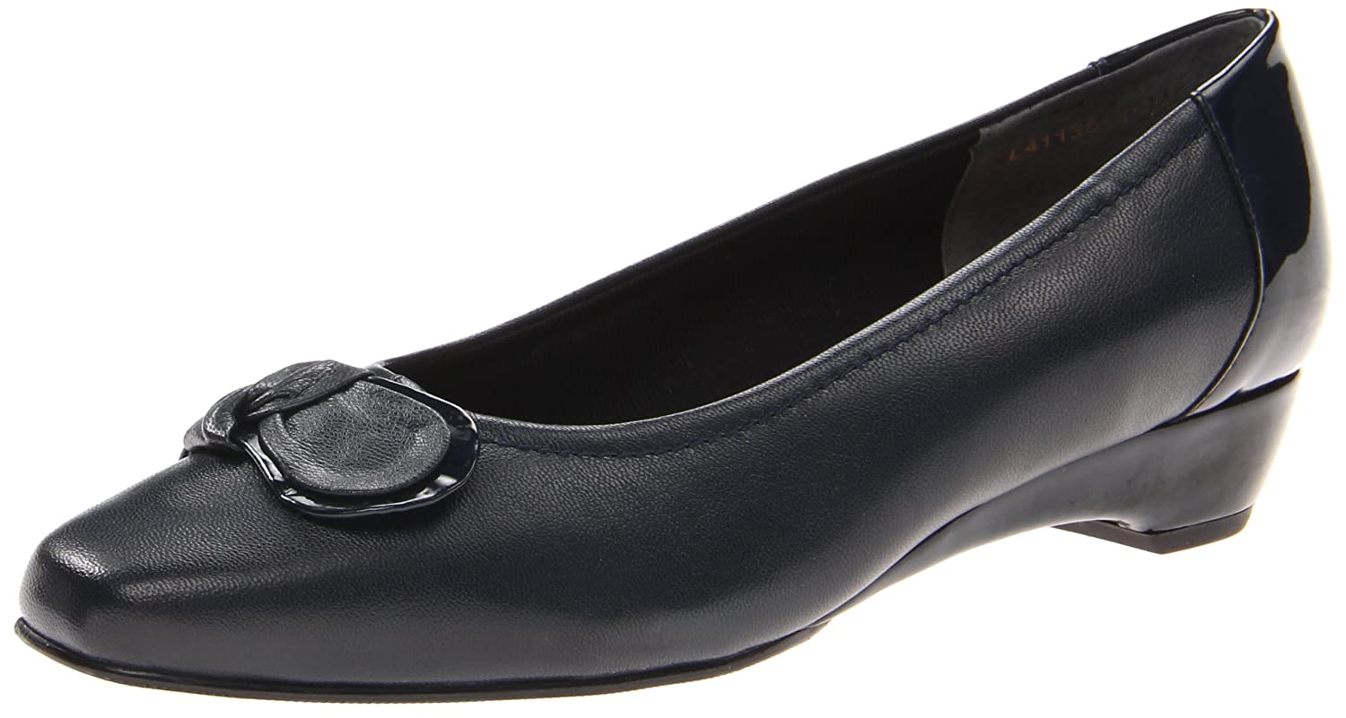 Walking Cradles Women's Bean Dress Pump B00B7A0I4K 8.5 N US|Navy