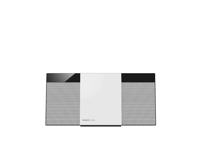Panasonic SC-HC304 HiFi CD Player Blanco - Unidad de CD (20 W, 8 cm, Dab+,FM, Interno, HiFi CD Player, Blanco)