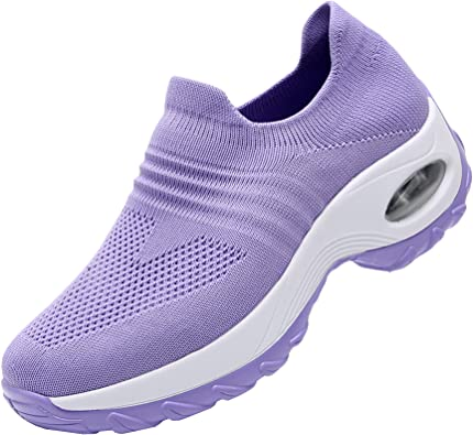 F1rst Rate Womens Lady Easy Walk Slip-on Light Weight Loafer Shoes Sneakers