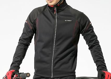 4Ucycling Hombre Bicicleta Chaqueta Resistente al Viento Chaqueta de Deporte – Rueda Chaqueta Forro Polar Exterior
