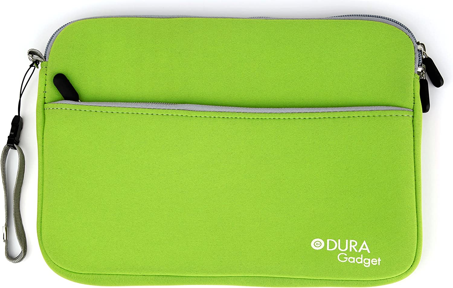 DURAGADGET Lime Green Water Resistant Neoprene Case/Cover for The Acer Iconia One 10 (B3-A40)