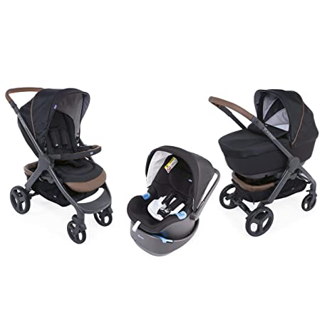 Chicco 4079181310000 Trio stylego Up bebecare Pure Black: Amazon ...