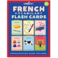 eeBoo French Flash Cards for Kids