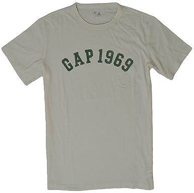 Gap Men's 1969 Athletic Logo Short Sleeve Crew Neck T-Shirt ...