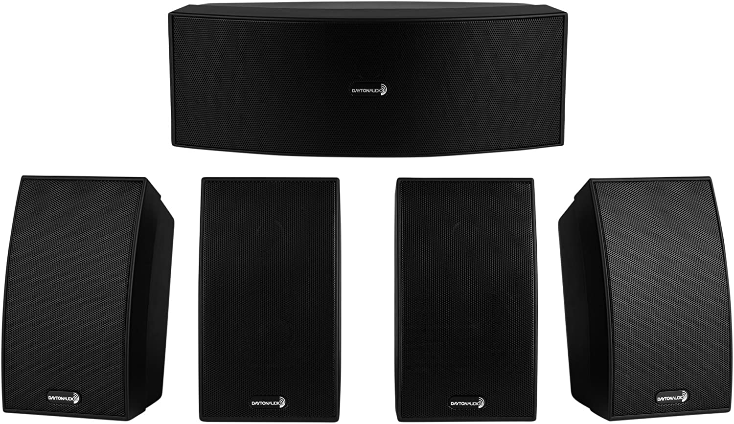 B000I7U1OU Dayton Audio HTS-1200B Home Theater Speaker System Black 81V1gZ2BrLeL.SL1500_