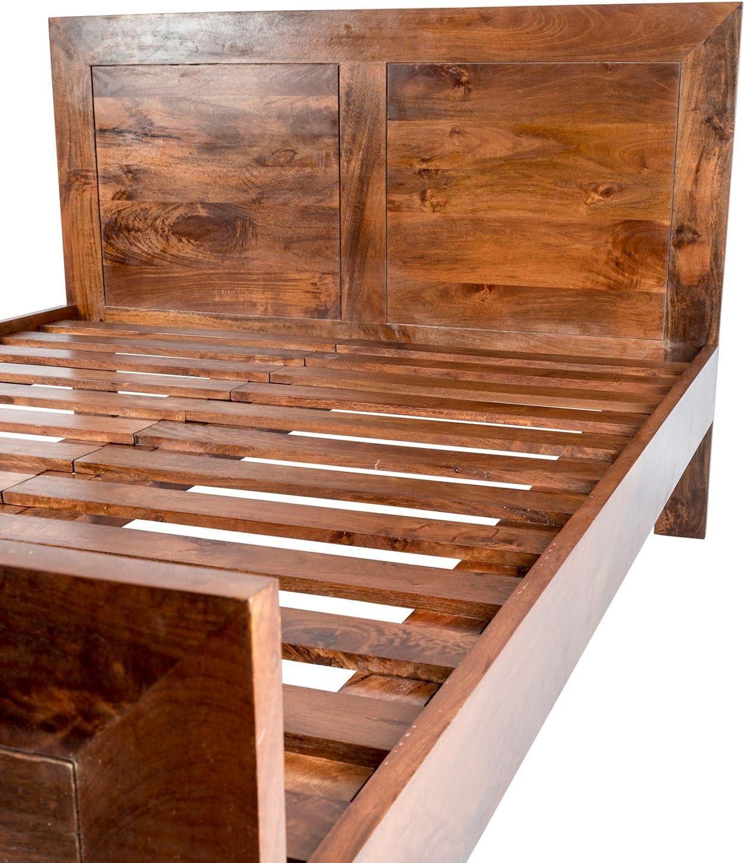 Bastidor de cama Dakota de Homescapes para tamaño extra grande ...