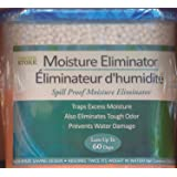 3-pack MOISTURE ELIMINATOR with CHARCOAL, absorbs twice its weight in water, 9.8 oz tubs by The Home Store