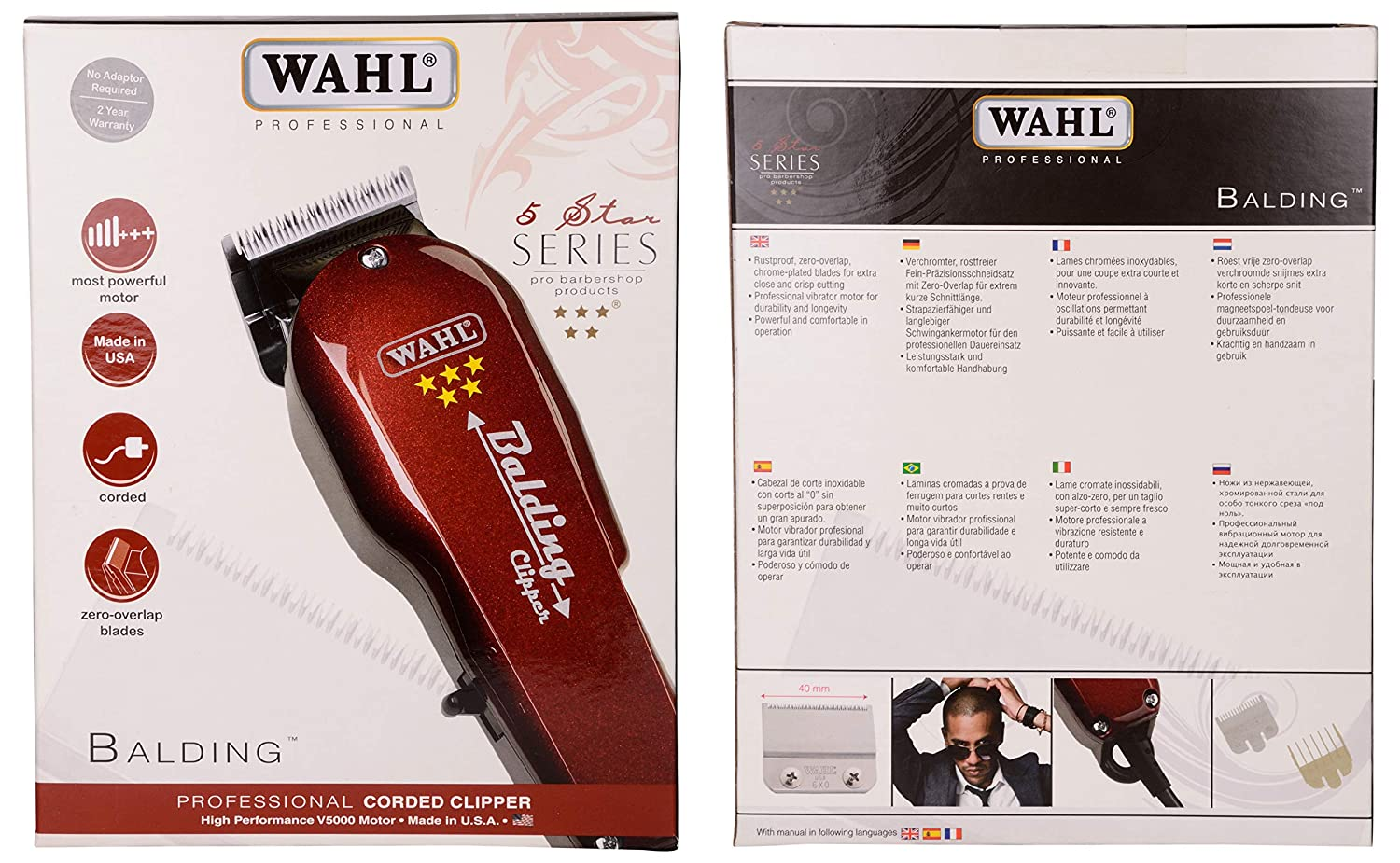 Wahl Colour Coded Plastic B Attachments For Standard Multi Cut Clippers Co Uk Health Personal Care