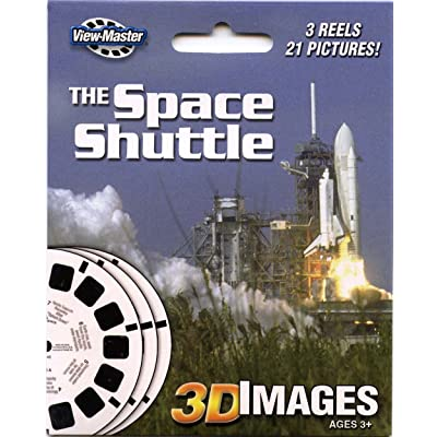 Space Shuttle - Classic ViewMaster - 3 Reel Set - 21 3D Images: Toys & Games