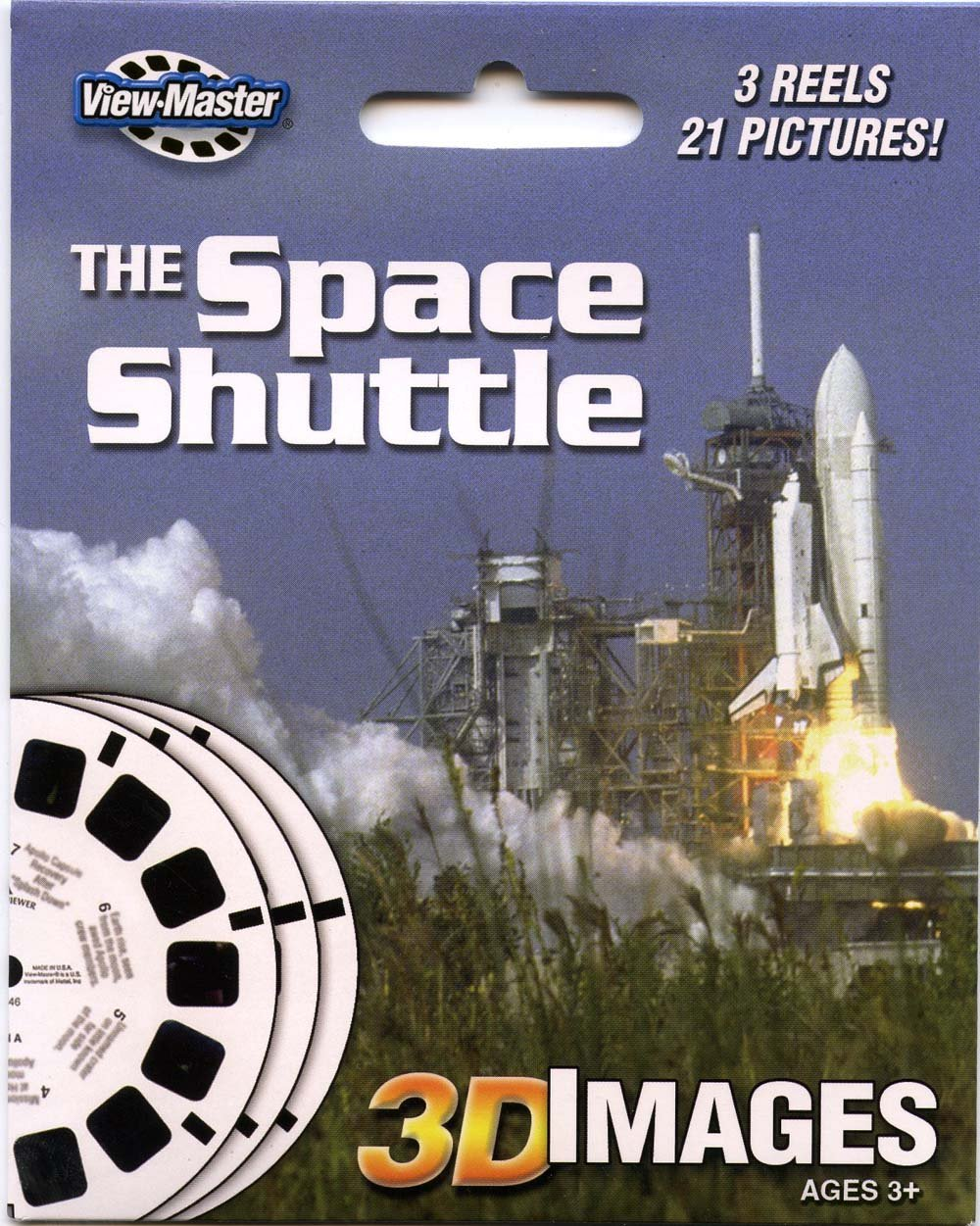 ViewMaster 3Reel Set - The Space Shuttle - 21 3D Images by 3Dstereo ViewMaster