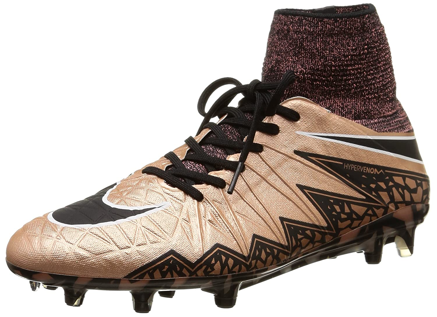 regard détaillé 084c8 a684d Nike Men's Hypervenom Phantom II FG Metallic Red Bronze/Green Glow/Black  Shoes