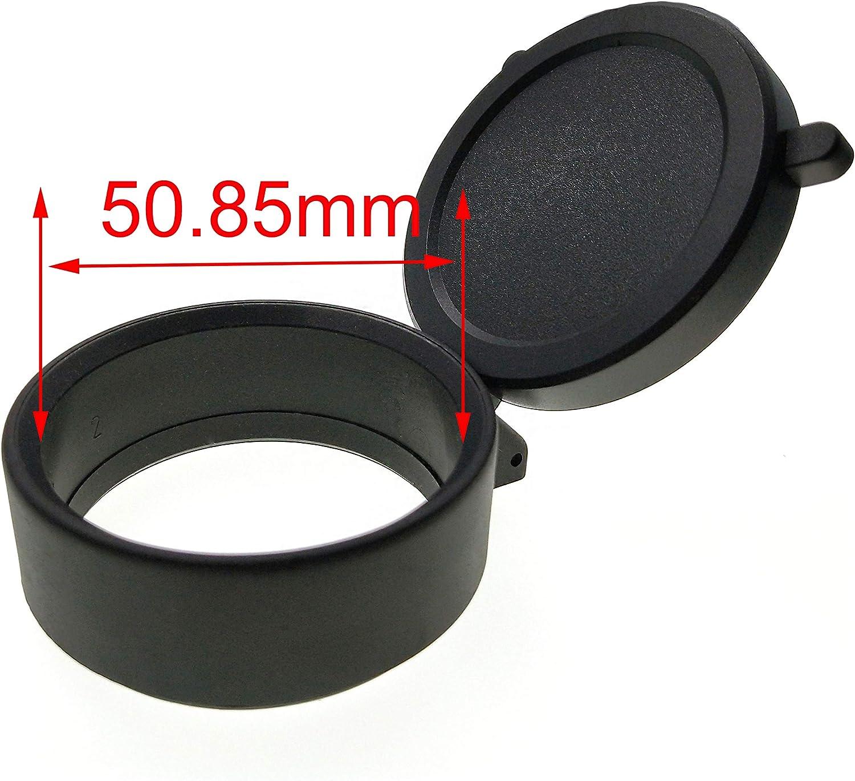Hauska Taille 25.5mm-69mm Lunette de vis/é La Chasse Scope Coque /étanche /à la poussi/ère Bouchon dobjectif Protection
