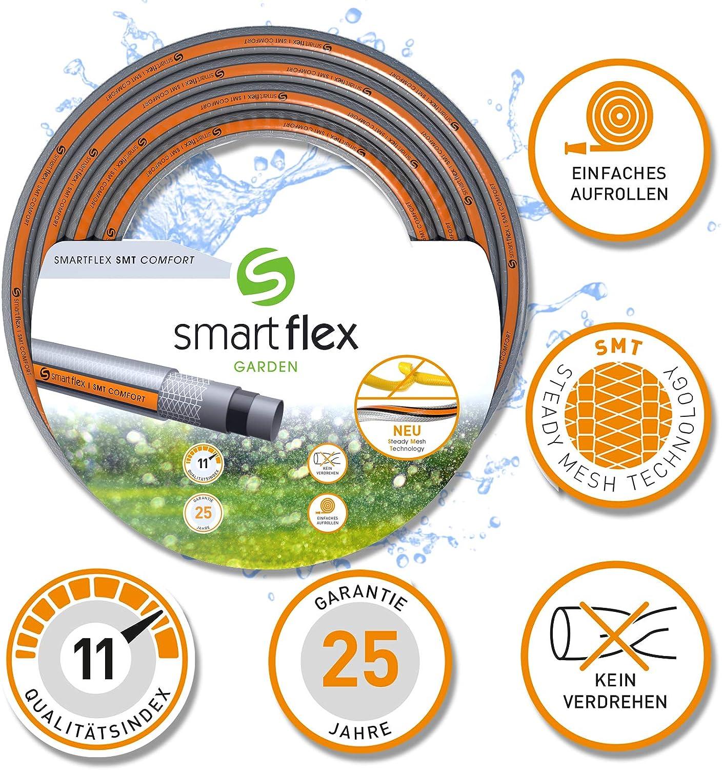 SmartFlex SMT Comfort 25 m Jardín Manguera 3/4